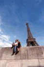 世界名胜0091,世界名胜,旅游风光,铁塔 风景 蓝天