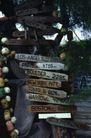 世界风景0032,世界风景,旅游风光,路牌 景色 木牌