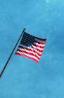 世界风景0040,世界风景,旅游风光,图案 美国国旗 飘扬