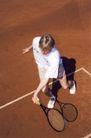 体育锻炼0030,体育锻炼,旅游风光,网球选手 挥舞球拍