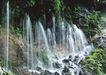 山溪瀑布0048,山溪瀑布,旅游风光,