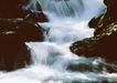 山溪瀑布0052,山溪瀑布,旅游风光,