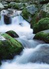 山溪瀑布0082,山溪瀑布,旅游风光,