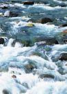 山溪瀑布0095,山溪瀑布,旅游风光,