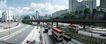 巨幅风景0035,巨幅风景,旅游风光,城市 公交车 车辆