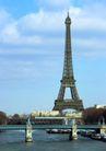 巴黎风景0099,巴黎风景,旅游风光,桥梁 城市建筑 标志性建筑