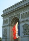 巴黎风景0101,巴黎风景,旅游风光,旗帜 雕刻 凯旋门