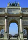 巴黎风景0105,巴黎风景,旅游风光,拱形门 正面 石雕