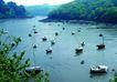 渡假圣地0014,渡假圣地,旅游风光,小游艇 湖面上