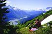登山运动0131,登山运动,旅游风光,山顶