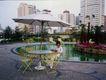 人物生活0022,人物生活,生活,大阳伞 几把椅子