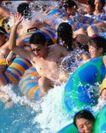 人物生活0040,人物生活,生活,游泳 救生圈 人群