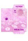 信纸包装0049,信纸包装,生活,粉色信封