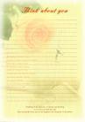 信纸包装0056,信纸包装,生活,黄色信纸