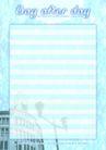 信纸包装0066,信纸包装,生活,淡蓝色的信纸