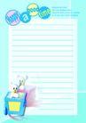 信纸包装0069,信纸包装,生活,蓝色底