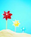 夏日标记0012,夏日标记,生活,风车 彩色风车