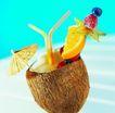 夏日标记0045,夏日标记,生活,椰子壳 小伞装饰