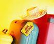 夏日标记0059,夏日标记,生活,一顶草帽 行李箱
