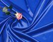 日常用品0127,日常用品,生活,蓝色的布 一枝花