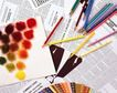 日常用品0136,日常用品,生活,一些铅笔 彩色铅笔