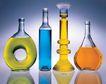 玻璃瓶0072,玻璃瓶,生活,各色液体