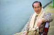 老人生活0002,老人生活,生活,知识老人 米色围巾