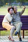 老人生活0028,老人生活,生活,甜蜜的老夫妻