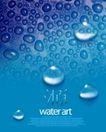 水滴0010,水滴,行业设计精选,蓝色 水泡 水源