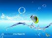 水滴0048,水滴,行业设计精选,动感 起伏 水波