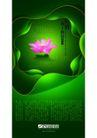 设计元素0004,设计元素,行业设计精选,花朵 莲花 颜色