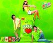 食品0003,食品,行业设计精选,糖果 广告人物 包装