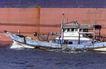 港口运输0017,港口运输,科技,一艘船 小船