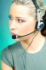 语音聊天0035,语音聊天,科技,侧脸 耳麦 T恤