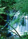 瀑布水源0219,瀑布水源,自然风景,