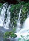 瀑布水源0227,瀑布水源,自然风景,