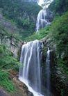 瀑布水源0232,瀑布水源,自然风景,山峰 瀑布 山间 山水