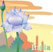 花之妖娆0115,花之妖娆,自然风景,夕阳 花朵 美丽