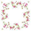 花卉边框0003,花卉边框,自然风景,