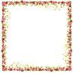 花卉边框0007,花卉边框,自然风景,