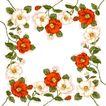 花卉边框0013,花卉边框,自然风景,
