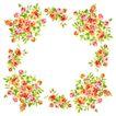 花卉边框0015,花卉边框,自然风景,