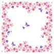 花卉边框0019,花卉边框,自然风景,