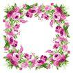 花卉边框0022,花卉边框,自然风景,