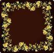 花卉边框0030,花卉边框,自然风景,