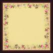 花卉边框0031,花卉边框,自然风景,颜色 边框 方框