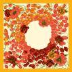 花卉边框0032,花卉边框,自然风景,花卉 花瓣 红色