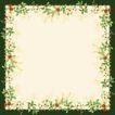 花卉边框0035,花卉边框,自然风景,绿叶 草本 野生
