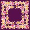 花卉边框0047,花卉边框,自然风景,