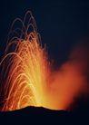 闪电火山0064,闪电火山,自然风景,